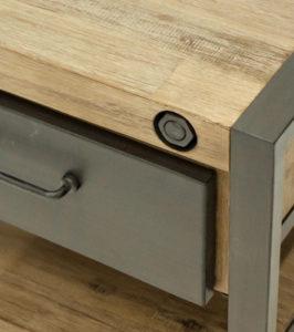 collection LOFT - meubles en acacias et métal