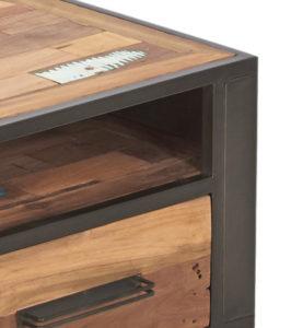 collection NORDIC - meubles en bois recyclés et métal