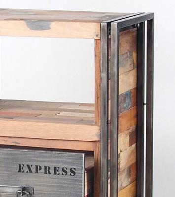 collection de meubles en bois recyclés SAMUDRA