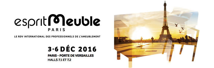 Salon esprit meuble 2016 paris industryal for Salon versailles 2016