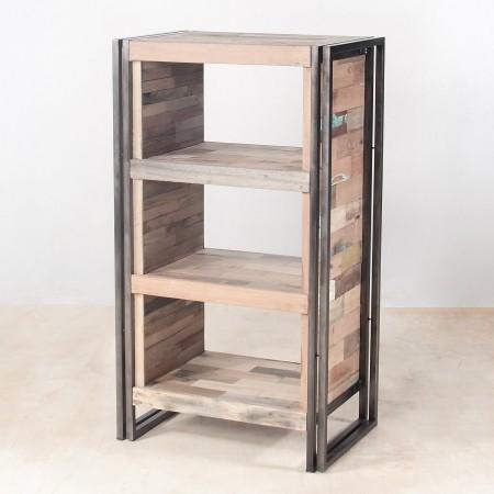 meuble 4 tag res en bois recycl s de bateaux industryal. Black Bedroom Furniture Sets. Home Design Ideas