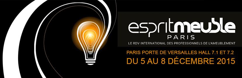 Salon esprit meuble 2015 paris stand 2b12 industryal for Salon esprit meuble