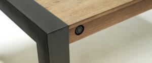 Manger Industryal Table Extensible A 2 Loft 230cm 180 N0XwPknO8