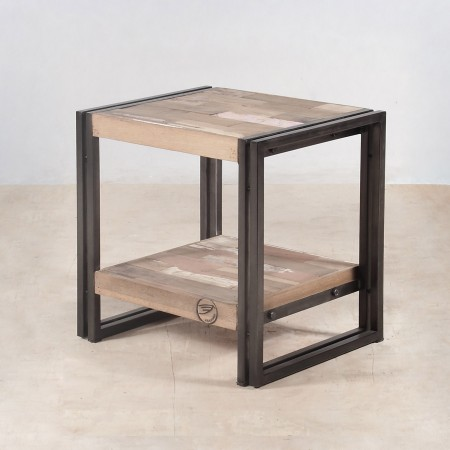 tables de chevet bois maison design. Black Bedroom Furniture Sets. Home Design Ideas