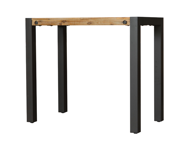 table mange debout 120cm collection LOFT - détails